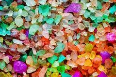 Farbiges Salz Lizenzfreie Stockfotos