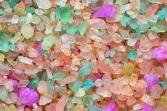 Farbiges Salz Lizenzfreies Stockfoto