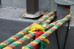 Farbiges Seil stockfotografie