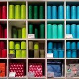 Farbkerzen Lizenzfreie Stockbilder