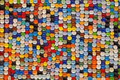 Farbkieselstein im Hintergrund Lizenzfreie Stockbilder