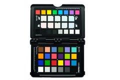 Farbkontrolleur-Passc$x-ritus brannte Phorographic-Farbe Callib ein stockfotografie