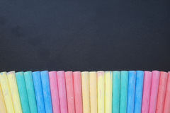 Farbkreiden Stockbilder