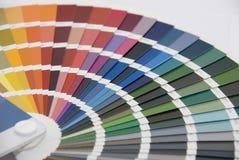 Farbmanagement/Farbdiagramm Lizenzfreie Stockfotografie
