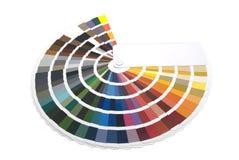 Farbmanagement/Farbdiagramm Lizenzfreie Stockbilder