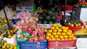 Farbmarktfrucht Stockbild