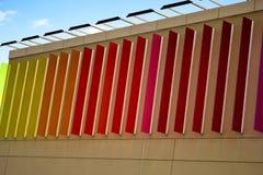 Farbmischungs-Wandkunst lizenzfreie stockfotos