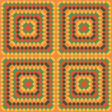 Farbmosaik - Muster Stock Abbildung