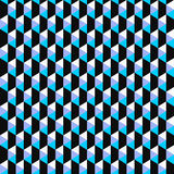 Farbmosaikmuster - nahtloser Hintergrund des Vektors Stockbild