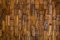 Farbmuster der hölzernen dekorativen Oberfläche des Teakholzes Lizenzfreies Stockfoto