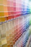 Farbmuster-Hintergrund Lizenzfreies Stockbild