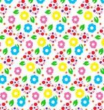 Farbmuster von Blumen Lizenzfreie Stockfotos