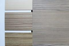Farbmuster von Countertops Lizenzfreie Stockbilder