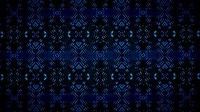 Farbmustertapete Geomatics blaue Stockfotografie