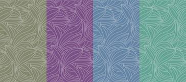 Farbnahtloser Musterhintergrund vektor abbildung