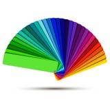 Farbpalette Stockbild