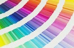 Farbpalettenmuster Stockfotos