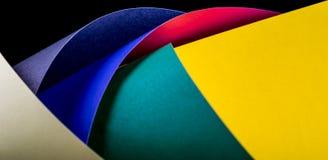 Farbpapierhintergrund Lizenzfreies Stockbild
