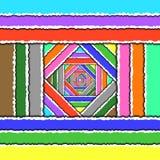 Farbpapierhintergrund Lizenzfreie Stockfotos