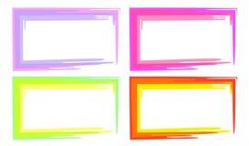 Farbrahmen lizenzfreie abbildung