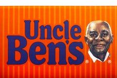 Farbror Bens Brand Arkivbild