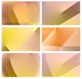 Farbschablonenhintergrund Stockbilder