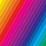 Farbspektrum-Zusammenfassungshintergrund, schöne bunte Tapete vektor abbildung