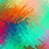 Farbstörschub-Hintergrund Lizenzfreie Stockfotografie
