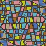 Farbsteinwand Lizenzfreies Stockbild