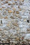 Farbsteinwand, alte Steinwand Lizenzfreie Stockfotografie