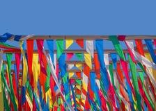 Farbstreifen Stockbild