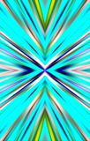 Farbstreifen auf einem blauen Hintergrund Helles Bild Lizenzfreie Stockfotos