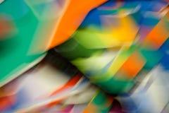 Farbstreifen und Bewegungsunschärfen 2 Stockfotos