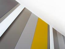 Farbstreifen und Diagonalen Stockfotografie