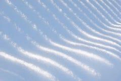 Farbtöne auf Schnee Lizenzfreies Stockfoto