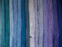 Farbtöne des Blaus Stockbilder