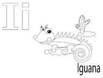 Farbton-Alphabet für Kinder, I Lizenzfreies Stockfoto