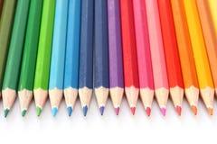 Farbton-Bleistifte Stockbild