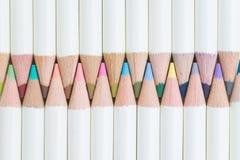 Farbton- oder Kunstkonzept durch nette Pastellfarbe zeichnet Anordnung an Lizenzfreies Stockfoto