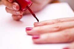 Farbton von Nägeln Lizenzfreies Stockfoto