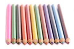 Farbtonbleistifte Stockfoto