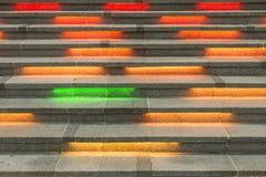 Farbtreppe Lizenzfreie Stockfotografie