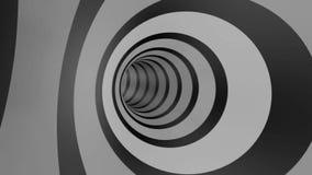 Farbtunnel-Rotations-Schleife lizenzfreie abbildung