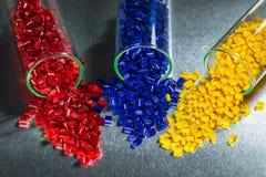 Farbujący plastikowi żywicy Obrazy Stock