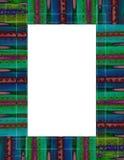 farbujący ramowy krawat Fotografia Royalty Free