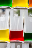Farbwasser Stockfoto