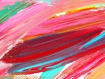 Farbweiche Malerei auf Papierhintergrundzusammenfassung Stockbild