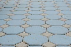 Farbwurm blockiert Muster Stockbild