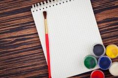 Farby dla rysować Obraz Stock