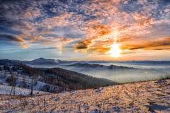 Farby góry Obrazy Royalty Free